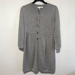 Boden cashmere gray long cardigan